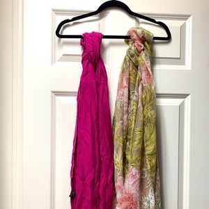❤️ 2 Scarves for the price of 1